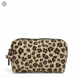 Vera Bradley Leopard Print Cosmetic Bag
